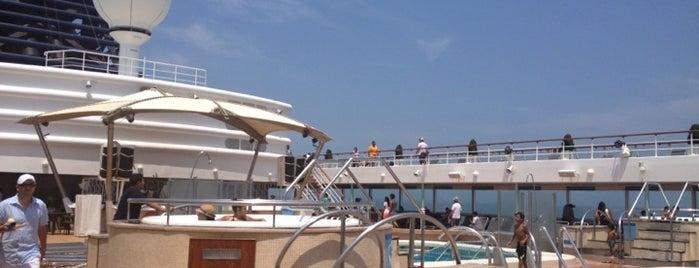 Puerto de Cartagena is one of UNESCO World Heritage Sites in South America.