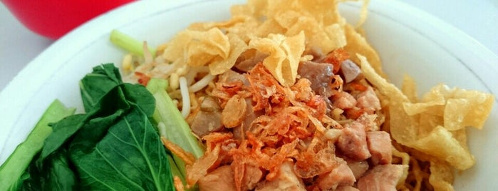 Bakmi Ayam Siantar Wen-wen is one of Kuliner Bekasi.
