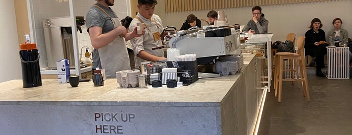 ABC Coffee Roasters is one of Moscow.