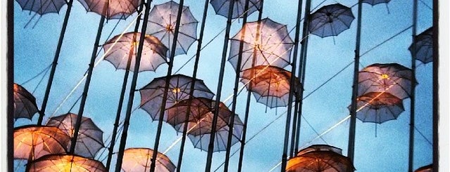 The Zongolopoulos Umbrellas is one of Thessaloniki.