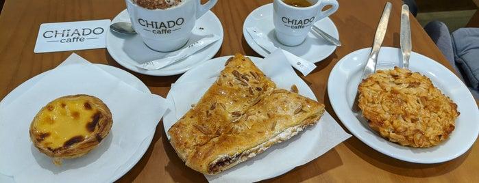 CHIADO caffe is one of Lisboa.