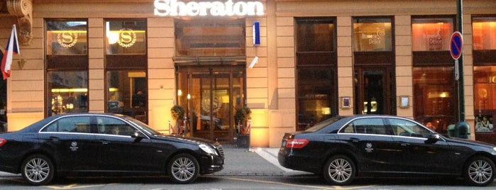 Sheraton Prague Charles Square Hotel is one of Lugares favoritos de Lewis.