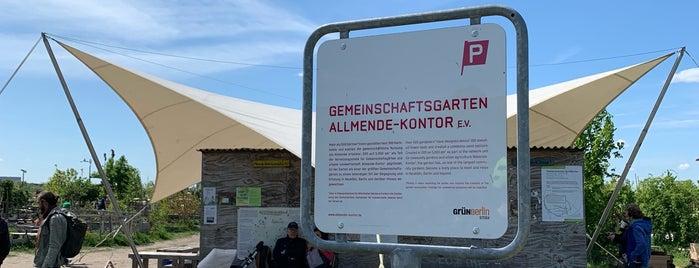 Allmende-Kontor is one of Grün und Blau Berlin.
