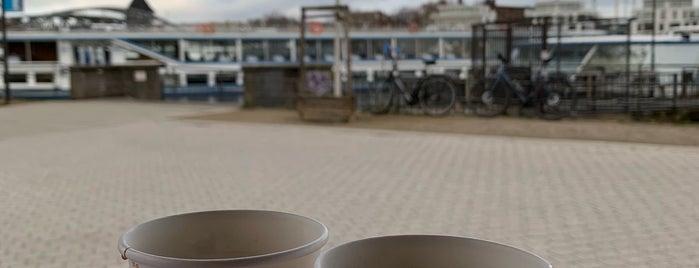 Hafen Bistro Am Treptower Park is one of Testen: Ausflüge.