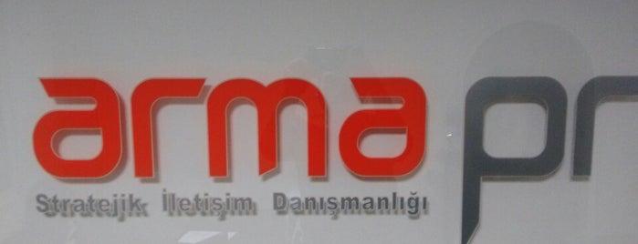 ARMA PR is one of İstanbul Etiket Bonus Mekanları Anadolu Yakası.