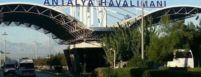 Antalya Havalimanı is one of Havaalanı.