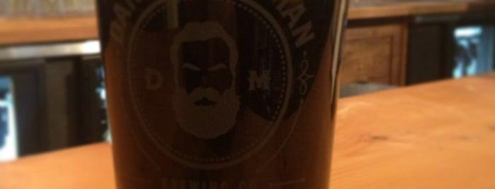 Dangerous Man Brewing Co is one of Lugares favoritos de Jason.