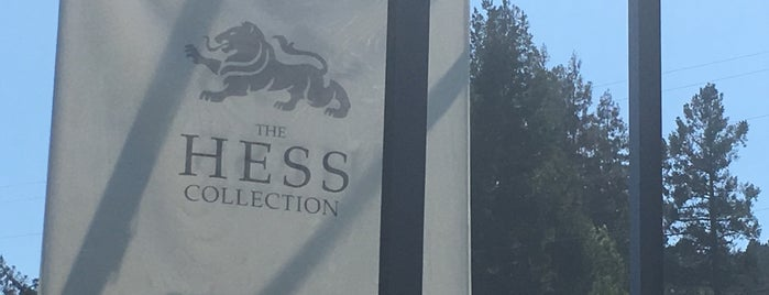 Hess Collection Winery is one of Kathryn 님이 좋아한 장소.