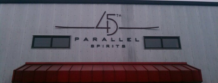 45th Parallel Distillery is one of Tap Rooms / Breweries in the Greater MN Area.