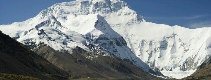 Mount Everest | Sagarmāthā | सगरमाथा | ཇོ་མོ་གླང་མ | 珠穆朗玛峰 is one of Before the Earth swallows me....