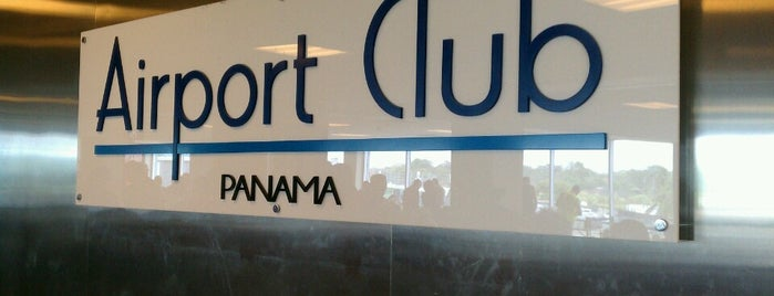 Airport Club Panamá is one of Tempat yang Disimpan Coleen.