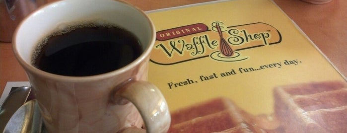 Original Waffle Shop is one of Posti che sono piaciuti a Yunji.