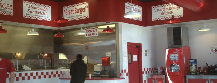Five Guys is one of Favorite Restaurants in Lone Tree, CO.