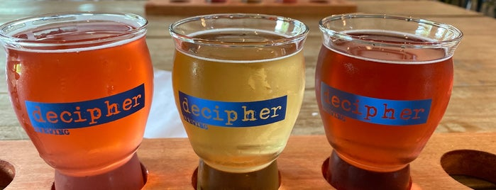 Decipher Brewing is one of Posti che sono piaciuti a Bridget.