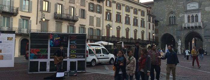 Piazza Vecchia is one of Charlotte's hen weekend in Bergamo.