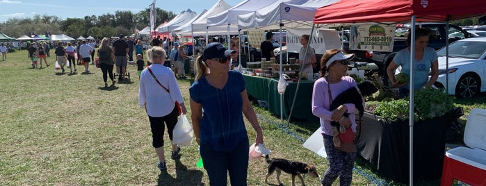 Parkland Farmer's Market is one of SoFlo spots.