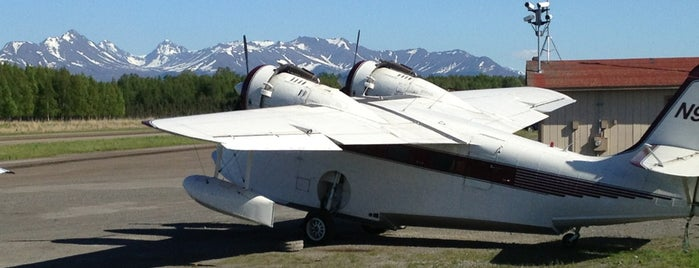 Lake Hood Seaplane Base is one of Cori's Liked Places.