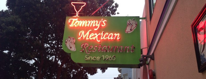 Tommy's Mexican Restaurant is one of Agave Bars & Restaurants Across The Globe.