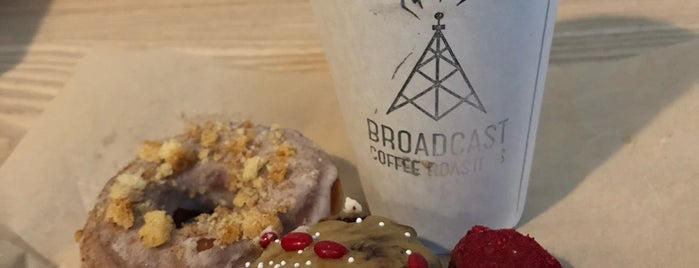 Broadcast Coffee is one of Seattle.