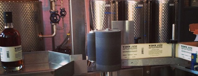 Widow Jane Distillery is one of NYC - Where to get a drink.