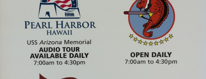 World War II Valor in the Pacific National Monument is one of Hello USA.