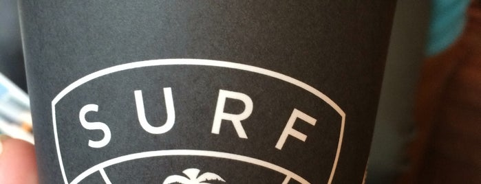 Surf Coffee is one of Cafe.