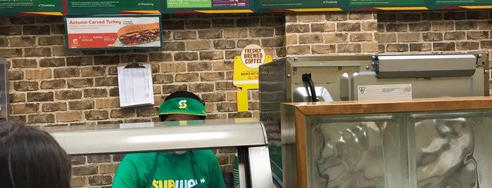 Subway is one of Lugares favoritos de David.