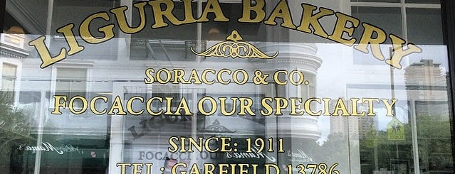 Liguria Bakery is one of Pacific Old-timey Bars, Cafes, & Restaurants.