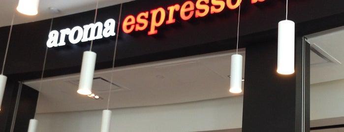 Aroma Espresso Bar is one of Lieux sauvegardés par Stuart.