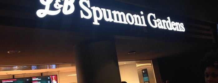 L&B Spumoni Gardens at the Barclays Center is one of NYC.