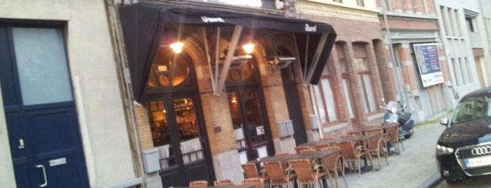 La pipe d'Anvers is one of สถานที่ที่บันทึกไว้ของ Peter.