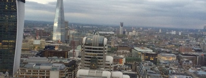 City Social is one of Breathtaking Views of London.