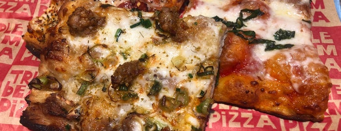 Triple Beam Pizza is one of Must Try Pizza.