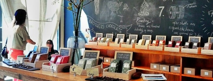Mast Brothers Chocolate Factory is one of Williamsburg/Greenpoint for Anne Marie.
