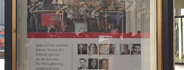 Ópera del Metropolitan is one of Lugares favoritos de Michael.