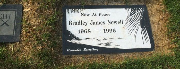 Bradley Nowell (Sublime) Memorial Site is one of LA.