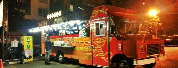 El Flaming Taco is one of Barry's LA.