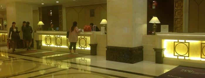 Sheraton Guilin Hotel is one of Locais salvos de Woo.