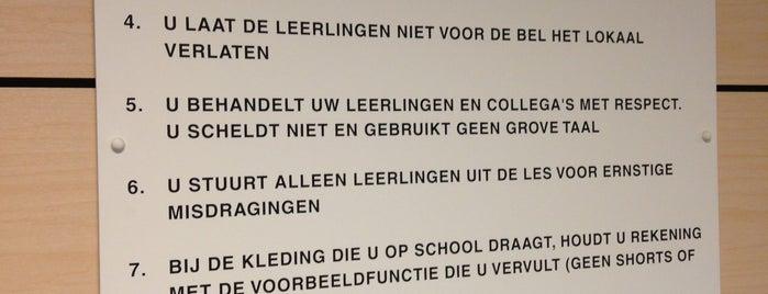 Scholengemeenschap Reigersbos is one of Alle middelbare scholen van Amsterdam.