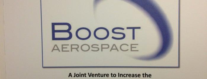 BoostAerospace is one of Ludo : понравившиеся места.