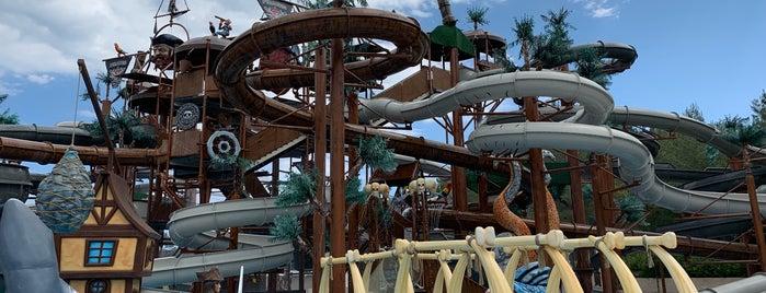 Pirates Of Olympus Aqua Park is one of Locais curtidos por Serkan.
