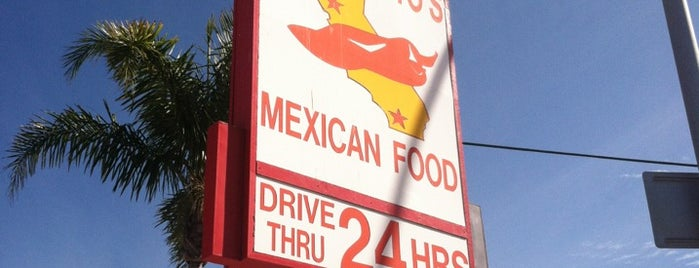 Adalberto's Mexican Food is one of Places to take guests in San Diego.