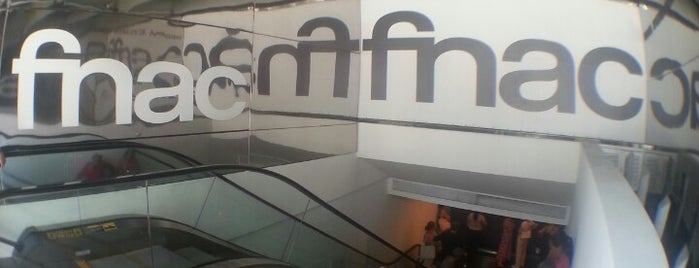 Fnac is one of LUGARES.