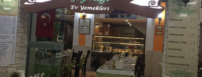 Yeşil Asma Yaprağı is one of Yemek.
