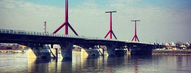 Rákóczi híd is one of Budai hegység/Pilis.