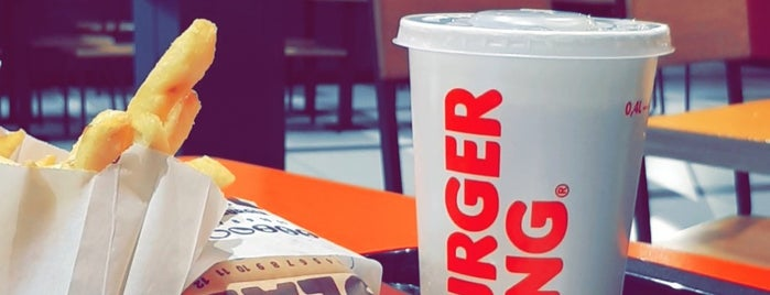 Burger King is one of Lugares favoritos de Kevin.