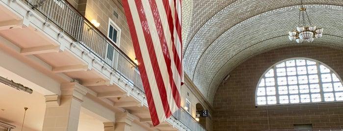 Ellis Island Registry Room is one of Diana : понравившиеся места.