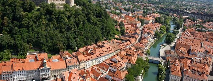 Ljubljanski Grad | Ljubljana Castle is one of Slovénie.