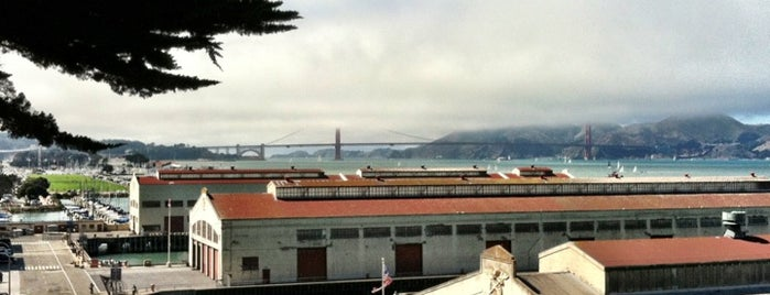 Fort Mason is one of SF.