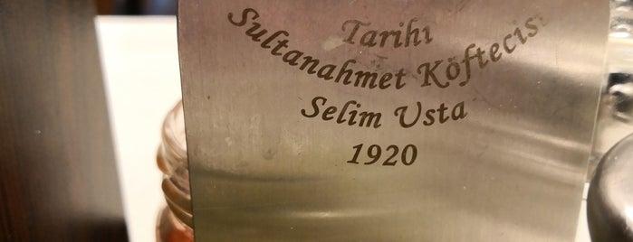 Tarihi Sultanahmet Köftecisi is one of Mod'un Beğendiği Mekanlar.